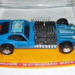 M27 Ford Mustang March IV blue Francia McGregor