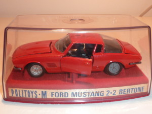 49 Ford Mustang 2+2 rosso pastello - RARO