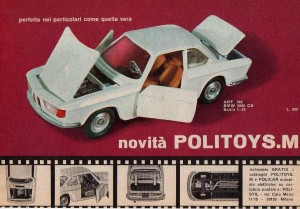 Politoys M546 BMW 2000 CS
