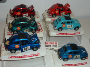 Politoys M599 Fiat 595 Abarth / all