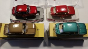 M513 Fiat 850 - All 4 Colors